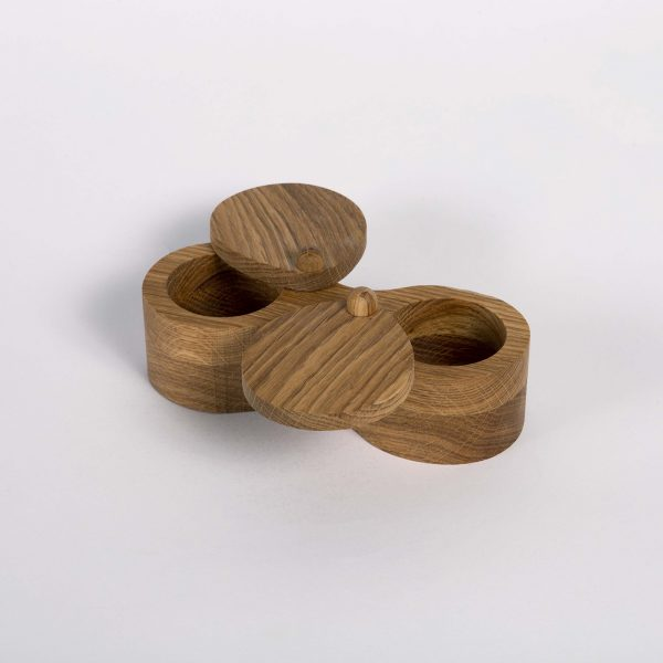 Daily Day - Double Wood Container for Spices