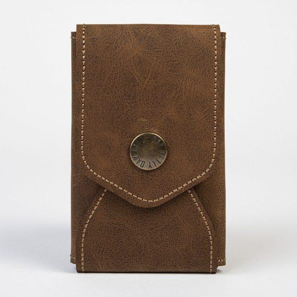 Daily Day - Porta-Cartões Envelope - Castanho Chocolate