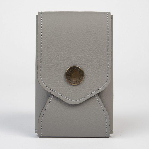 Daily Day - Porta-Cartões Envelope - Cinza