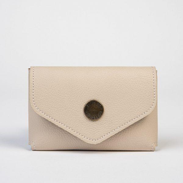 Daily Day - Porta-Cartões Envelope - Bege