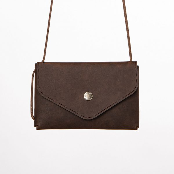Daily Day - Envelope Wallet - Chocolate Brown