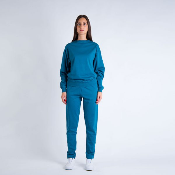 Daily Day - Camisola Leisure - Azul Pato