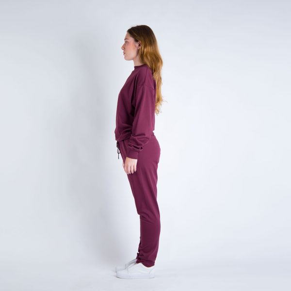 Daily Day - Camisola Leisure - Bordeaux