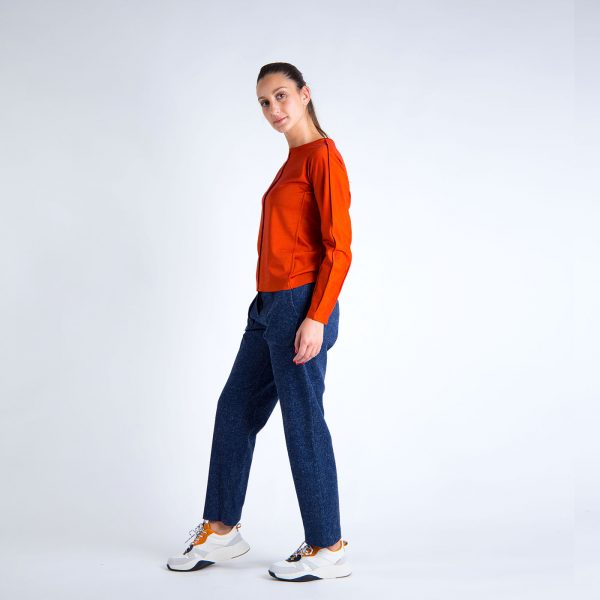 Daily Day - Camisola Wise - Terracota