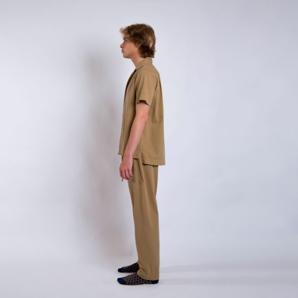 Daily Day - Camisa Shinde - Bege